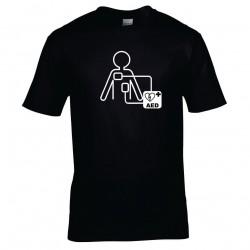 Majica prvi posredovalec AED