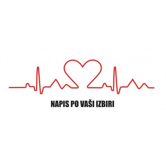 Majica EKG LINE Srce
