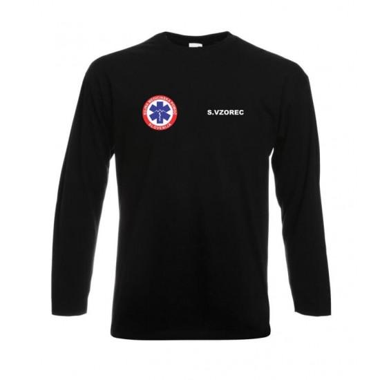 Zaščitna majica z dolgimi rokavi Reševalec
